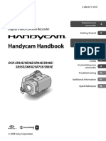 Handbook Sony dcr