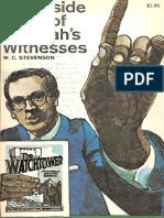 Inside Story Jehovahs Witnesses by W. C. Stevenson, 1968