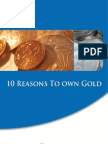 Reasons to Own Gold