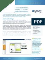 Case Study Kaplan University
