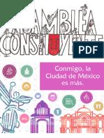 Convocatoria para integrar la Asamblea Constituyente de la Ciudad de México