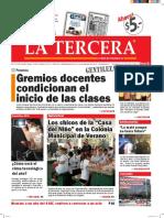 Diario La Tercera 10.02.2016