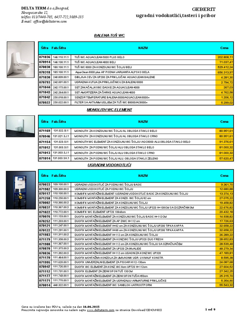 070 Geberit Ugradni RSD