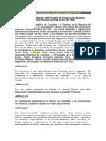 Convenio de Cooperacion Aduanera PECO