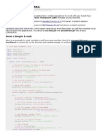Java Sending Email