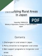 Revitalising Rural Areas in Japan KatsuhikoYamauchi