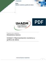 Unidad 2. Representación Numérica y Gráfica de Datos