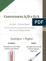 Conversores AD e DA