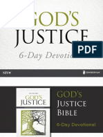 NIV God's Justice Reading Plan
