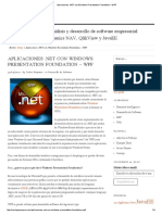 Aplicaciones .Net Con Windows Presentation Foundation – Wpf