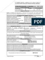 Ficha Proceso Gestion Documentos Sgc
