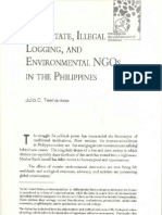 The State, Illegal Logging, And Environmental NGOs in the Philippines