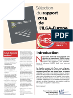 Sélection du rapport de l'ILGA2015