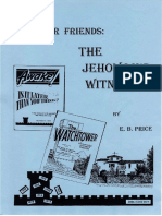 Our Friends the Jehovahs Witnesses by E.B. Price, 12th Edition