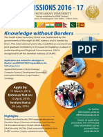 Admission Poster 2016