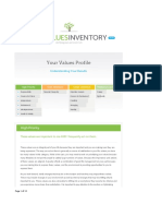 life values inventory