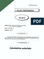 Sujet 5 Electronic Appliqué