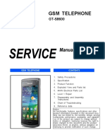 Samsung Gt-s8600 Service Manual r1.0
