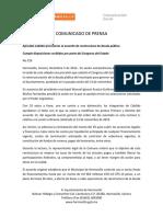 05-12-15 Aprueba Cabildo precisiones al acuerdo de reestructura de deuda pública