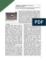Aplicação de agentes oxidantes na Reciclagem de Água no Tratamento de Efluentes de Lavagem de Carros