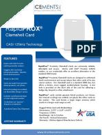 RapidPROX CASI Clamshell Card v2016