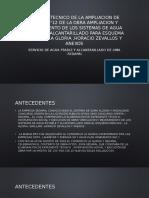 ANALISIS TECNICO DE LA AMPLIACION DE PLAZO N°12