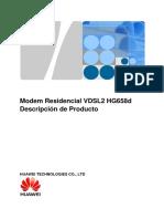 modem Huawei HG658d
