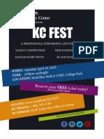 Kc Fest Flier