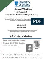 01 Vibrations Lecture 1