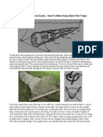 A Long-Term Survival Guide - How to Make Hoop-Style Fish Traps