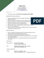 kathryn shepel resume