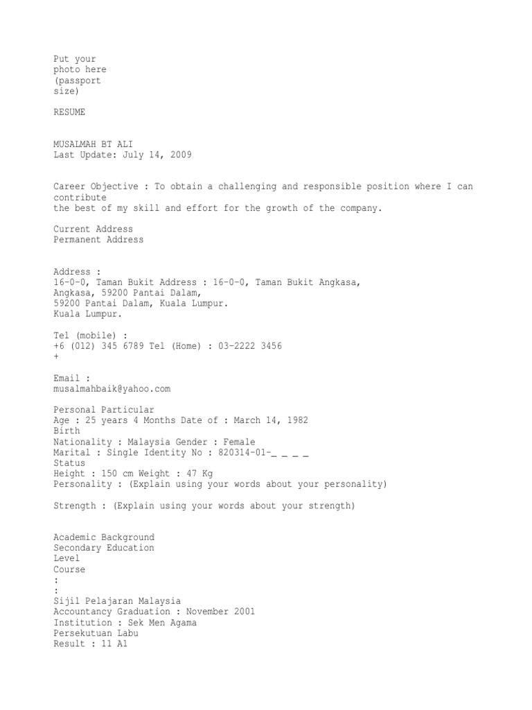 17770112 contoh resume terbaik