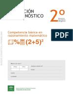 Pruebas Diagnóstico ESO 2º - Estadística y Probabilidad