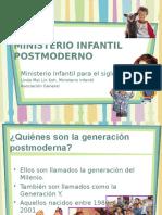 3. Ministerio Infantil Postmoderno