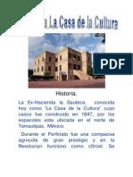 Historia Casa Cultura