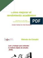 Charla Metodo de Estudio Sr. Julio Salas