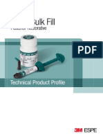 3M ESPE Filtek Bulk Fill Technical Profile_LR