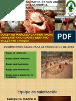 Equipo Para La Produccion Avicola