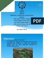 Exposicion de Los Metales