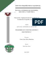 Desarrollo e Implementación de Un Sistema de Localización Geográfica en FPGA