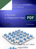 Curso Inversores - Acciones , obligaciones negociables