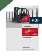 Manual de Usuario Linde h25 392