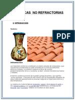 Ceramicas No Refractorias