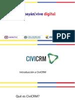 Presentacion CIVICRM
