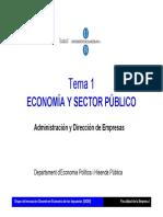 Economia y Sector Publico