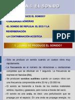 TEMA 4. EL SONIDO