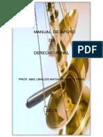 Manual de Apoyo de Derecho Penal. Abg. Ubaldo M. Garcete P.