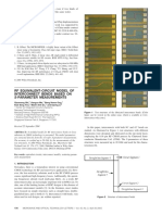 RF Equivalent-Circuit Model of Interconnect Bends Based on S-Parameter Measurements