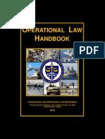 Operational Law Handbook - 2013
