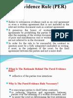 Parol Evidence Rule (PER).ppt